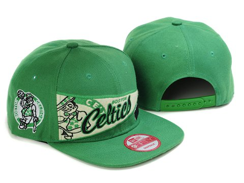 Boston Celtics Snapback Hat LX24